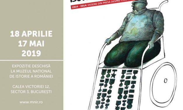 """Deschiderea expoziției """"Dessine-moi la guerre"""", la Muzeul Național de Istorie a României"""