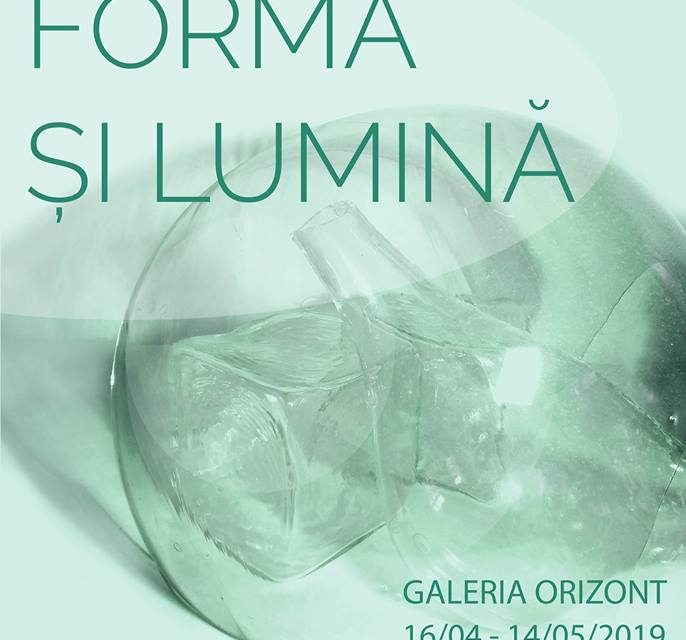 """""""Salonul Sticlei"""" ediția 31 """"Formă și Lumină"""" @ Galeria de artă """"Orizont"""", București"""