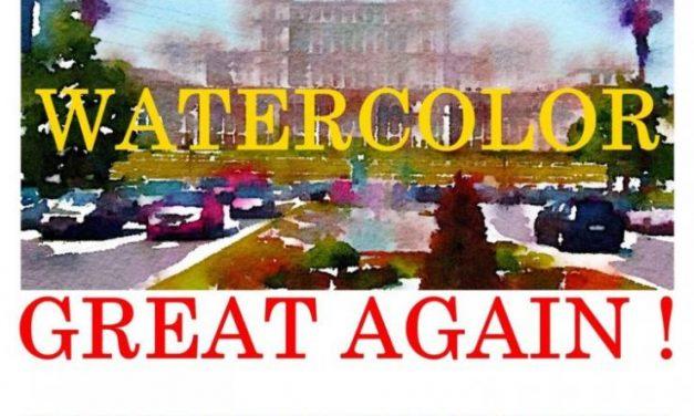 MAKE THE WATERCOLOR GREAT AGAIN – IWS ROMÂNIA @ Palatul Parlamentului