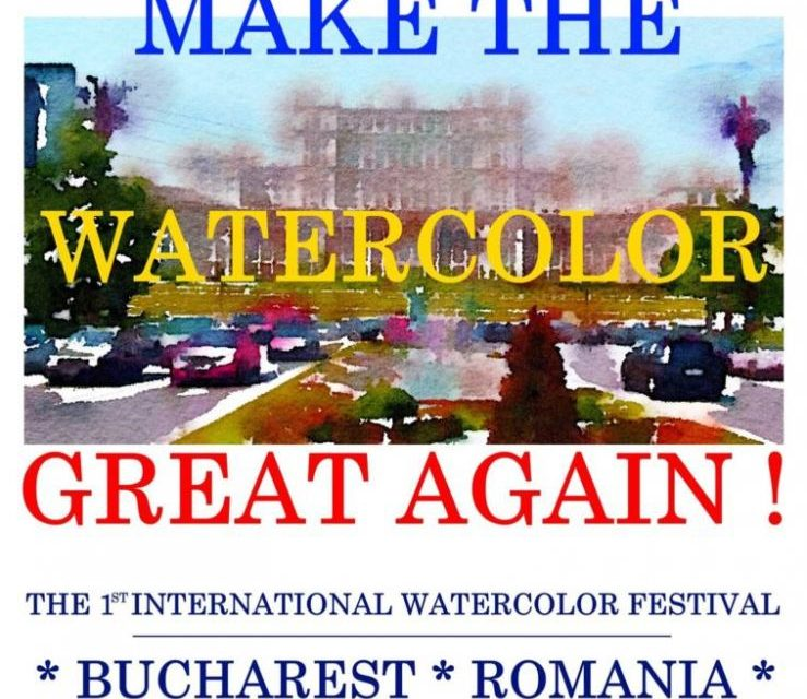 MAKE THE WATERCOLOR GREAT AGAIN – IWS ROMÂNIA @ Palatul Parlamentului
