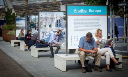 """Expoziția în aer liber """"Another Europe"""" @ Strada pietonală Nicolae Bălcescu din Sibiu"""