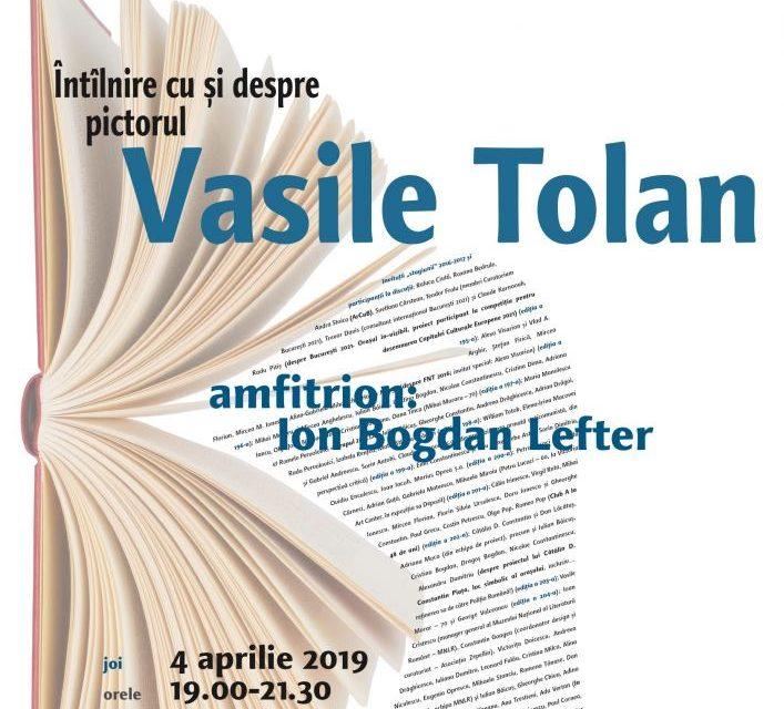Pictorul Vasile Tolan la Cafeneaua critică!