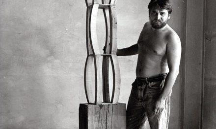 Darie Dup în vizită în atelierul lui Peter Jacobi din Wurmberg, 2001