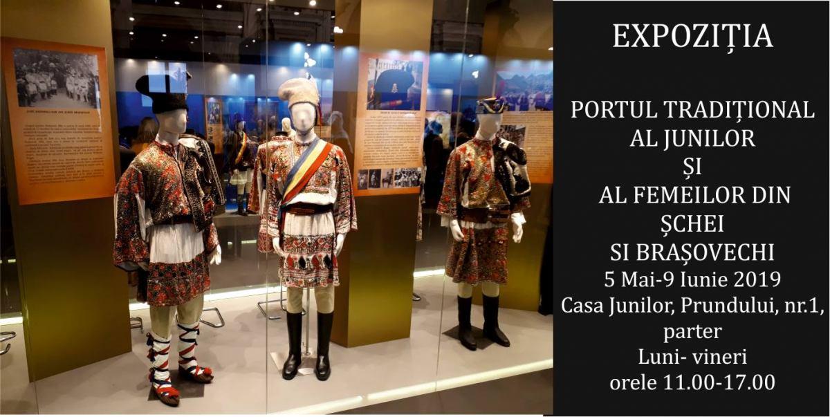 """Expoziția """"Identitate națională, eleganță și vestimentație la românii din Brașov (1700-1939)"""" @ Muzeul din Casa Junilor, Brașov"""