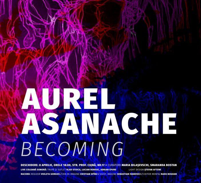 "Expoziție Aurel Asanache ""Becoming"" @ Galeria de artă DANA Iași"