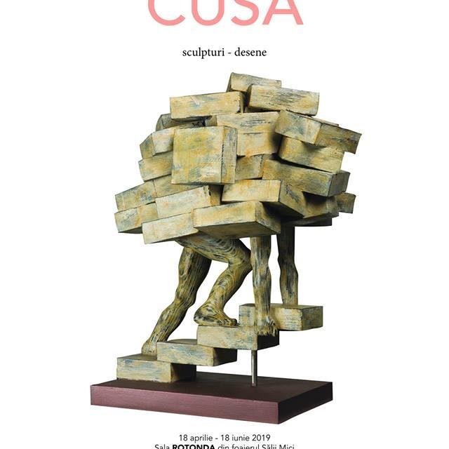Expoziție Dimitri CUSA, sculpturi, desene @ Teatrul Național I. L. Caragiale