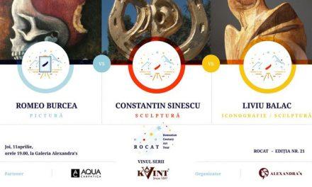 Expoziție Romeo Marius Burcea, Constantin Sinescu, Liviu Balac @ Galeria Alexandra's, București