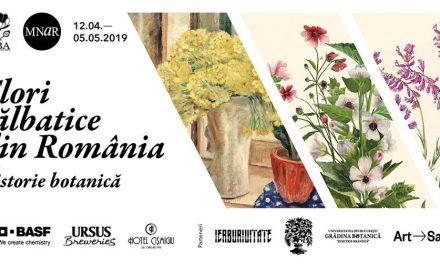 """Expoziția de pictură """"Flori sălbatice din România – o istorie botanică"""" @ Muzeul Național de Artă al României"""