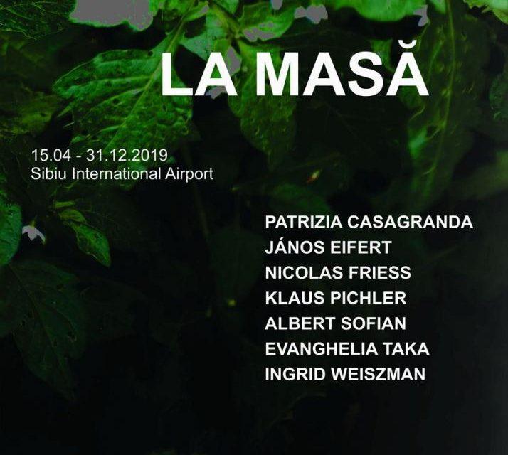 """Deschiderea expoziţiei """"La Masă"""" Aeroportul din Sibiu aşterne masa pentru artă"""
