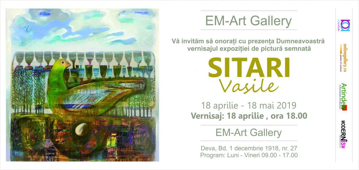 Vasile Sitari @ EM-ART Gallery, Deva