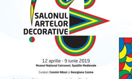 Salonul Artelor Decorative 2019 la Muzeul Național Cotroceni
