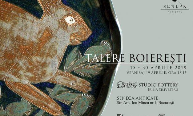 Talere Boierești – expoziție de ceramică @ Seneca AntiCafe, București