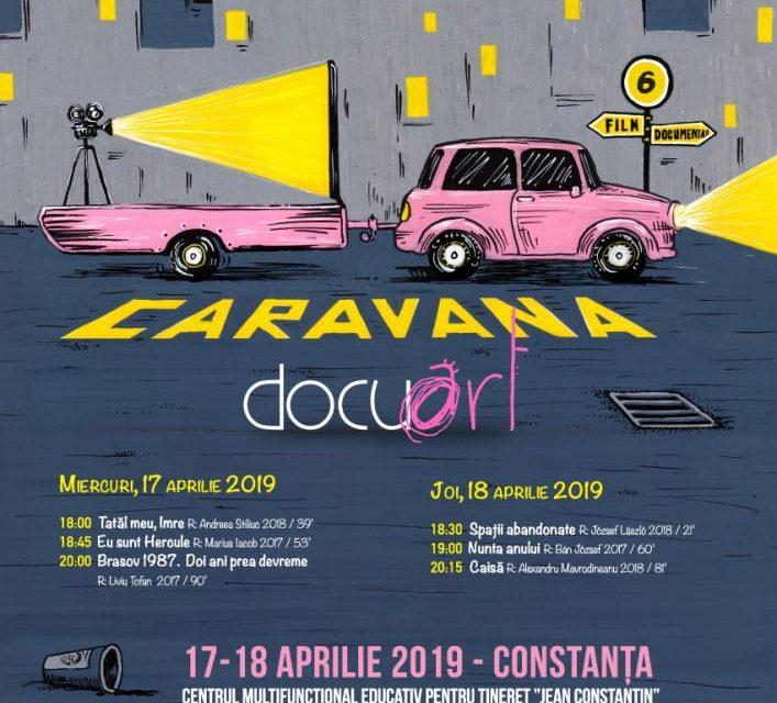 Caravana Docuart dă play documentarului pe 17 și 18 aprilie la Constanța