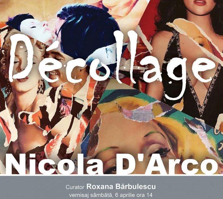 """Expoziție """"Décollage"""" a artistului Nicola DʿArco @ Biblioteca Națională a României, București"""