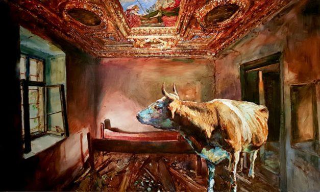 """""""Sfârşitul istoriei"""", expoziţia pictorului Gheorghe Fikl, la Galeria """"Brâncuşi"""" a ICR Londra"""