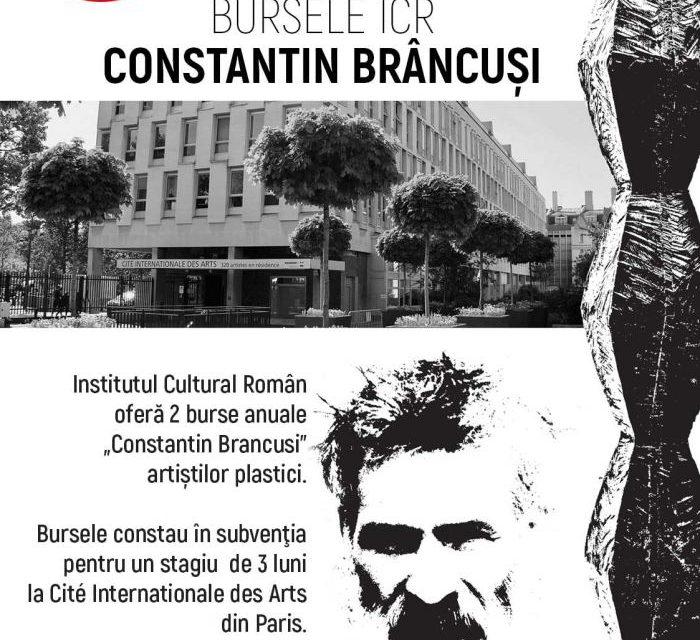 """Bursele ICR """"Constantin Brâncuși"""" duc artiști vizuali români la celebrul """"Cité Intérnationale des Arts"""" din Paris"""