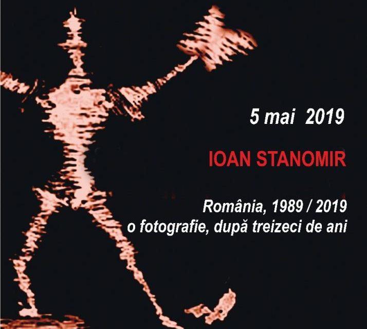 Conferințele TNB: Ioan Stanomir prezintă conferinţa cu tema România, 1989 / 2019 – o fotografie, după treizeci de ani