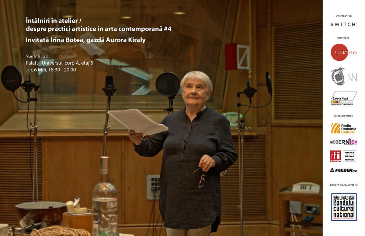 Alexandrina Halic, într-o secvență din filmul Semnal invizibilitate transmisă, autori Irina Botea Bucan și Jon Dean, 2016
