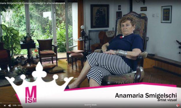 Anamaria Smigelschi @ Centenarul femeilor din arta românească