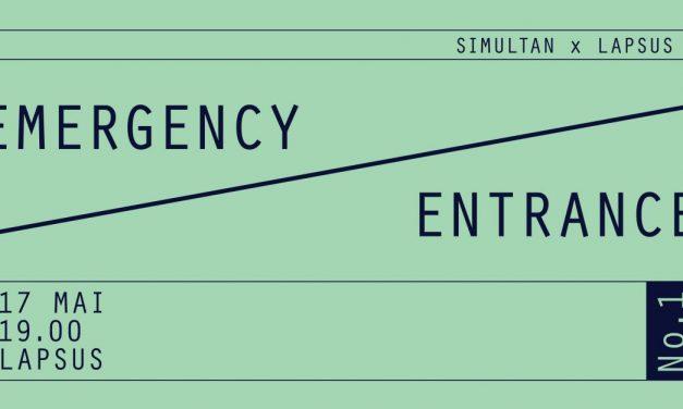 Emergency Entrance #1 @ Lapsus, Timișoara