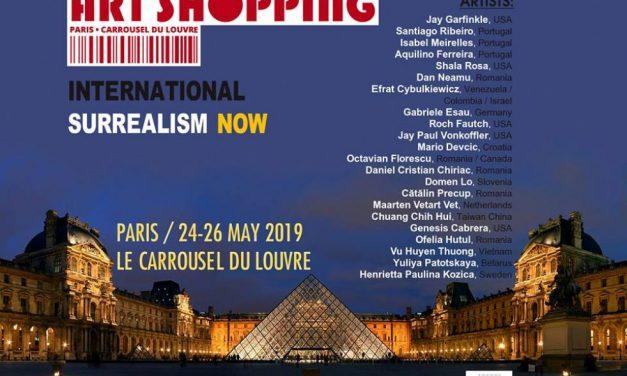 Artiști români participanți la  salonul internațional de artă contemporană Art Shopping din Carrousel du Louvre, Paris