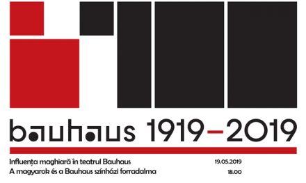 Bauhaus 1919-2019. Influența maghiară în teatrul Bauhaus @ Teatrul Odeon, București