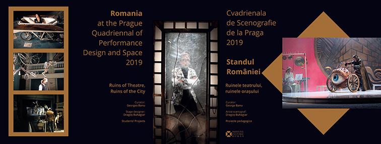 """""""Ruinele teatrului, ruinele orașului"""", tema expoziției organizate de Institutul Cultural Român la Cvadrienala de Scenografie de la Praga"""
