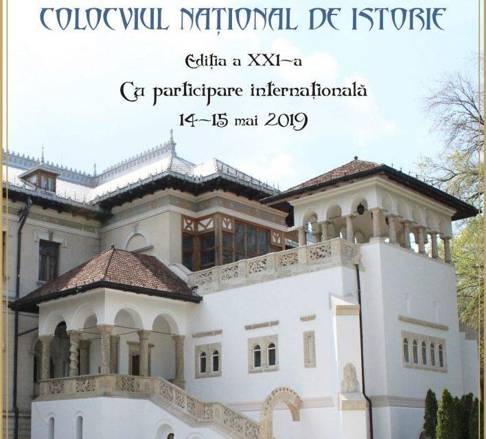Colocviul Naţional de Istorie, ediţia a XXI-a @ Muzeul Naţional Cotroceni