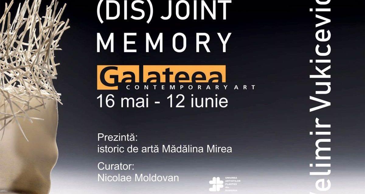 (DIS)JOINT MEMORY, solo show Velimir Vukićević @ Galateea Contemporary Art, București
