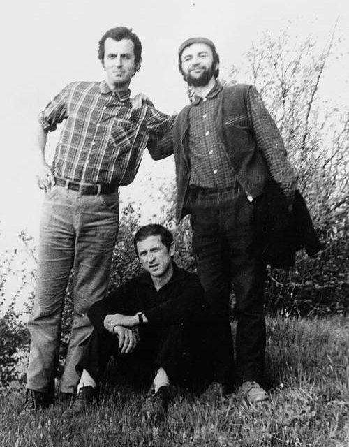 Horia Bernea, Teodor Rusu și Teodor Moraru la Poiana Mărului în 1970