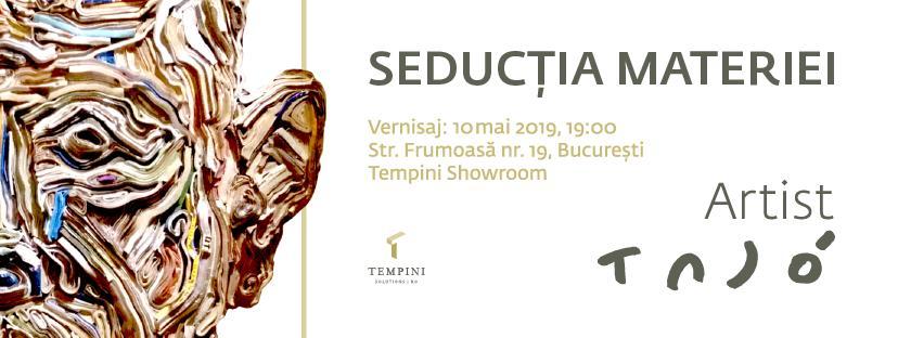 """Expoziţie Tasi Tajo Iosif """"Seducţia Materiei"""" @ showroom-ul Tempini, București"""