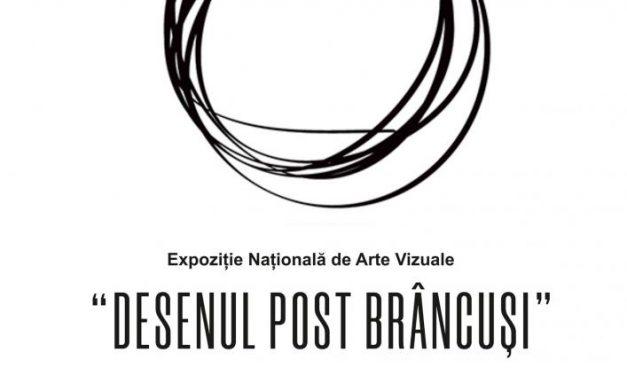 """Expoziția națională """"Desenul post Brâncuși"""" ediția a IV-a @ Muzeul Județean Gorj """"Alexandru Ștefulescu"""" din Târgu Jiu"""