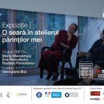 """Expoziție """"O seară în atelierul părinților mei"""" @ Galeria LA CAVE a Institutului Francez din Cluj-Napoca"""