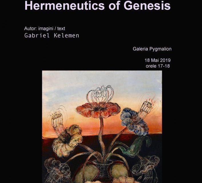 """Gabriel Kelemen: lansare albumul bilingv (română și engleză) """"Hermeneutica Genezei/ Hermeneutica Genezei-Hermeneutics of Genesis"""" @ Galeria Pygmalion, Timișoara"""