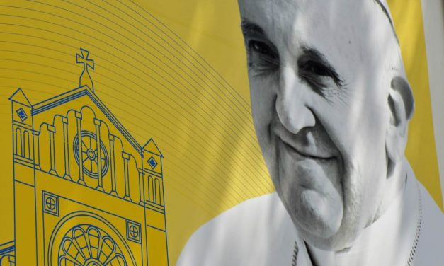 Chipul Papei Francisc @ Bucuresti