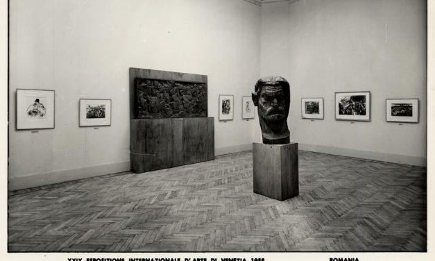 Pavilionul României la Bienala de artă de la Veneția din 1958