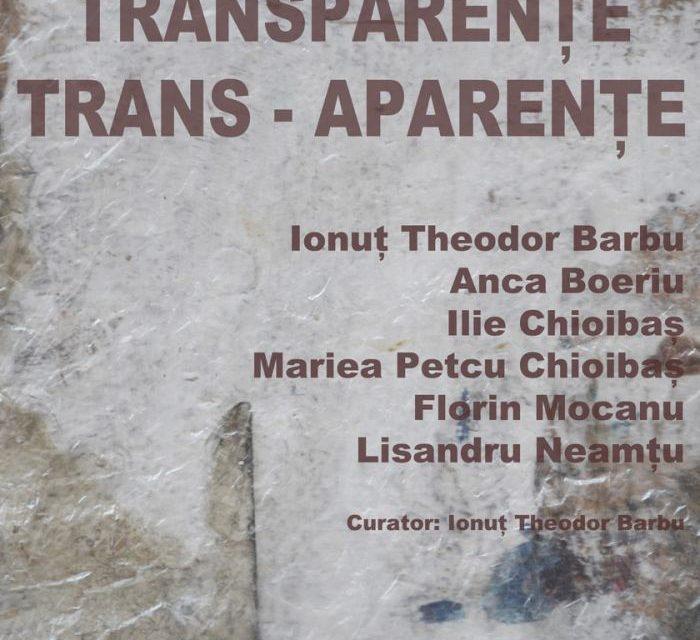 """Expoziția """"TRANSPARENȚE TRANS-APARENȚE"""" @ Galeria Simeza, București"""