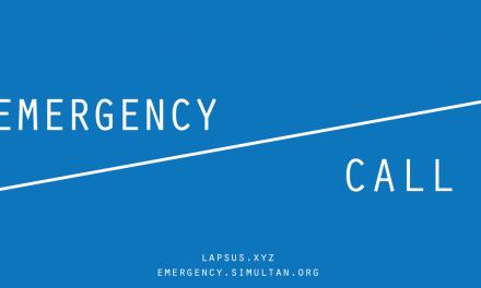 "OPEN CALL""EMERGENCY ENTRANCE"""