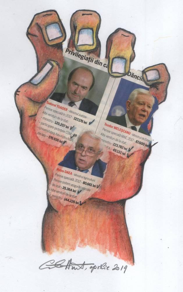Cativa democrati saraci, dar slugarnici