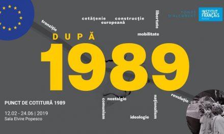 """Proiectul """"Punct de cotitură 1989"""" revine la Institutul Francez"""