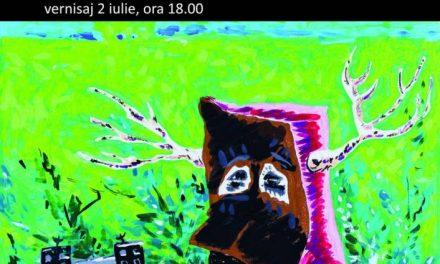 """Expoziția """"Salonul 5"""" a artistului Cristi Gașpar, la Institutul Cultural Român"""
