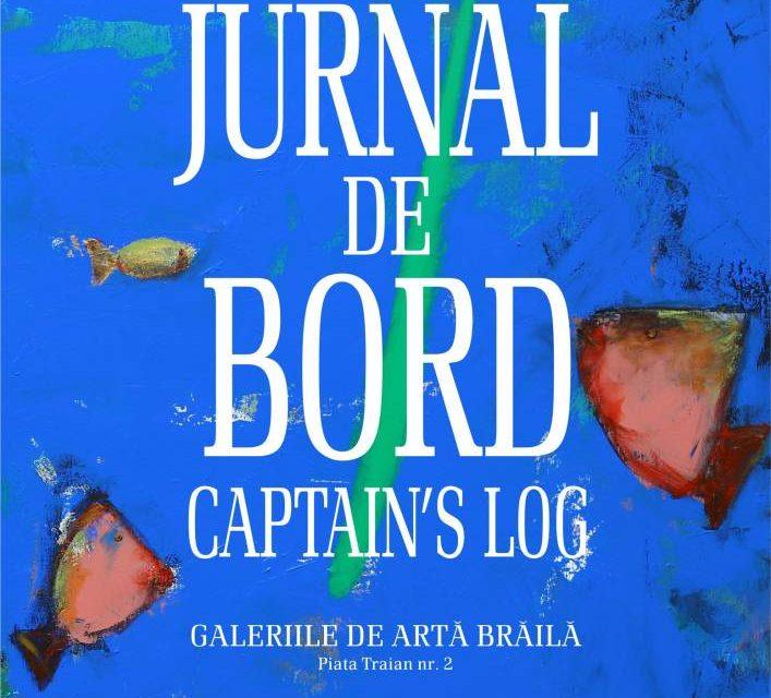 """Expoziție Csatlos Levente """"Jurnal de bord"""" @ Galeria de Artă Brăila"""