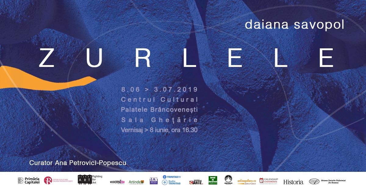 """Expoziție Daiana Savopol """"Zurlele"""" @ Centrul de Cultură """"Palatele Brâncoveneşti de la Porţile Bucureştiului"""""""