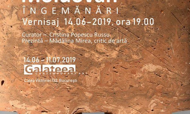 """Expoziție Nicolae Moldovan """"Îngemănări"""" @ Galateea Contemporary Art, București"""