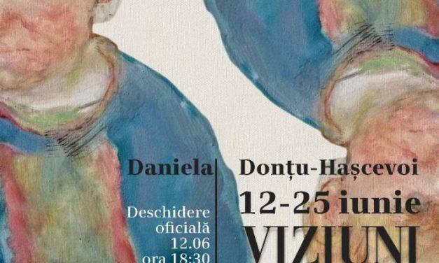 """Expoziție personală Daniela Donțu-Hașcevoi """"Viziuni Patriarhale"""" laElite Art Gallery, București"""
