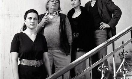 Ion Bitzan, Irina Bitzan, Vladimir (Doru) Șetran și o prietenă, 1992