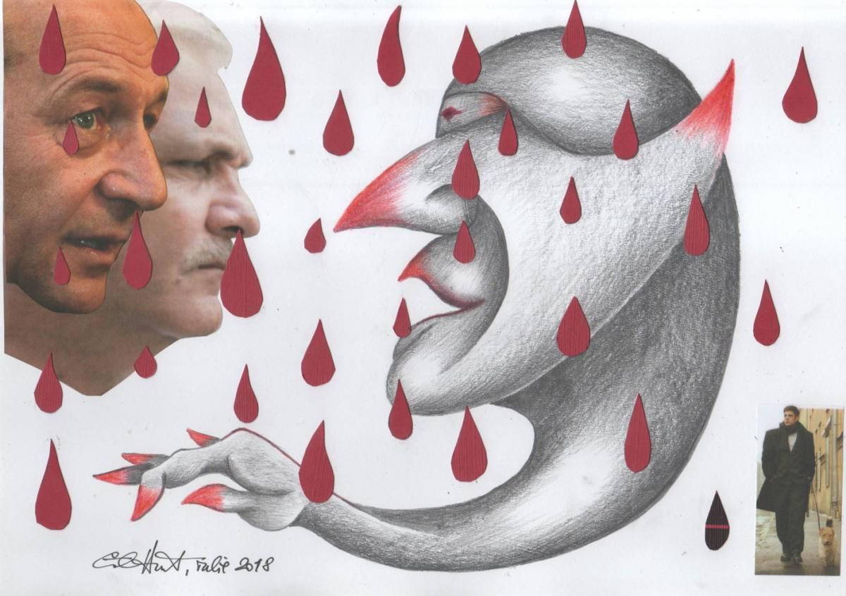 O forma de raspuns la ploaie este sa pupi mana Necuratului
