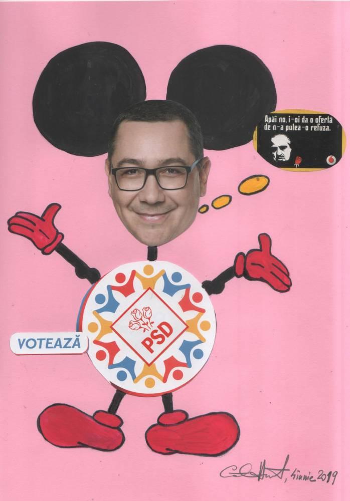 Oferta electorala a lui Mickey Copypaste