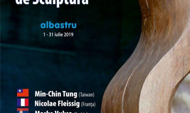 """Rezidență Internațională de Sculptură """"Albastru""""@ Centrul de Cultură """"George Apostu"""" Bacău"""