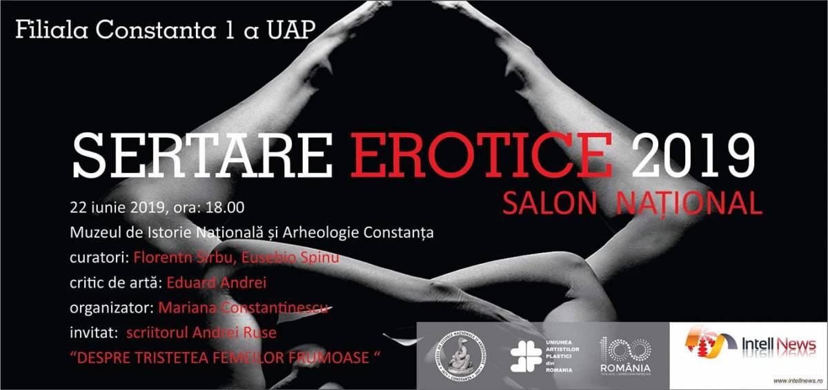 """Salonul Național """"Sertare erotice"""" @ Muzeul de Istorie Națională și Arheologie Constanța"""